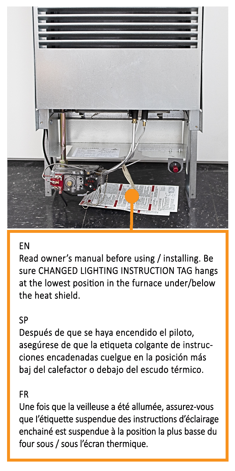 Monterey Plus Top Vent Detail Page - Williams Comfort Products   Williams Top Vent Wall Furnace Wiring Diagrams      Williams Comfort Products